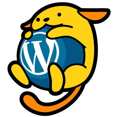 ja.wordpress.org 公式キャラクター「わぷー(Wapuu)」