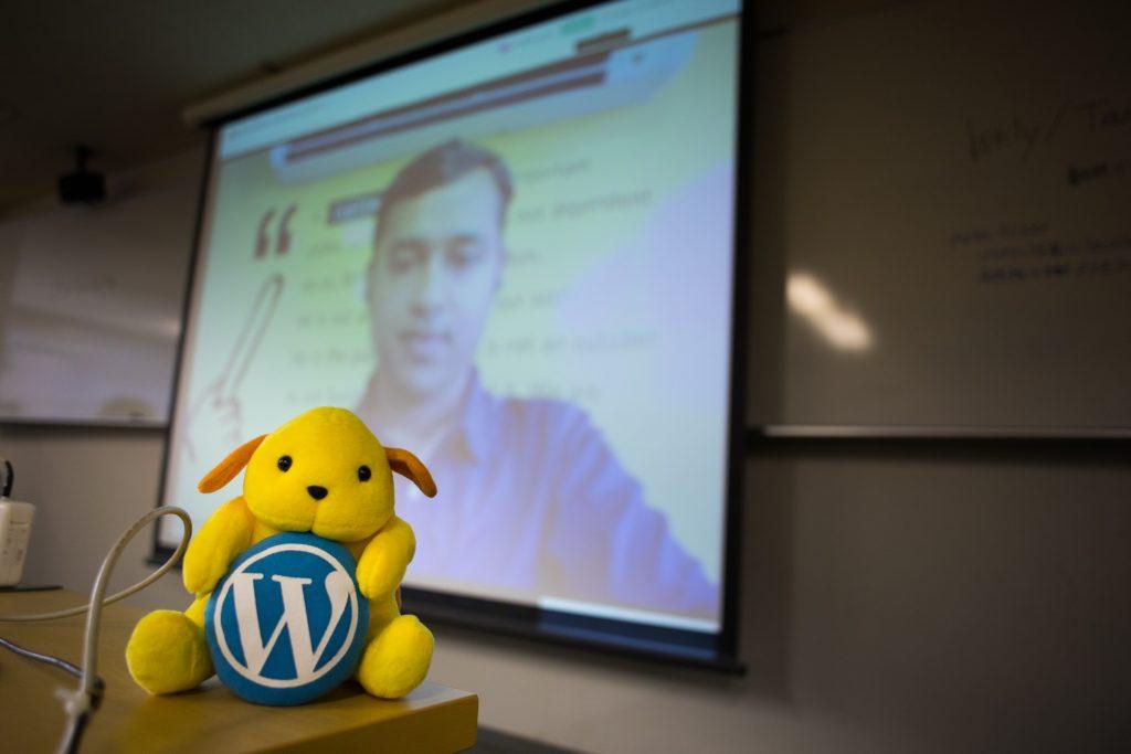 WordPress Translation Day 4 ライブストリーミング視聴の様子